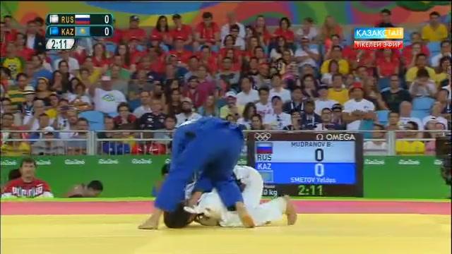 Дзюдошы Елдос Сметов Рио Олимпиадасының күміс жүлдегері атанды