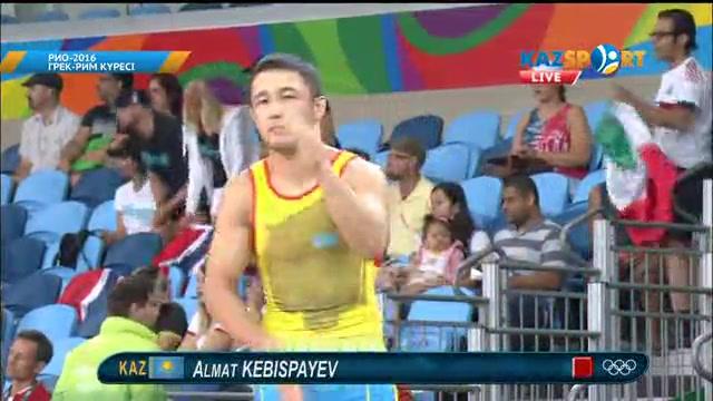 Алмат Кебіспаев Рио Олимпиадасын жеңіспен бастады