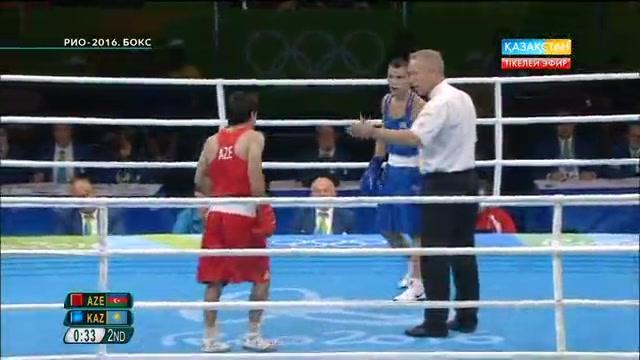 Олжас Сәттібаев әзірбайжандық боксшыға есе жіберді