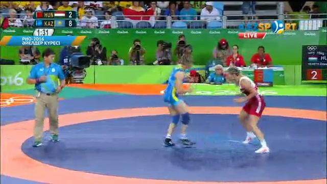 Гюзель Манюрова Рио Олимпиадасының ширек финалына шықты