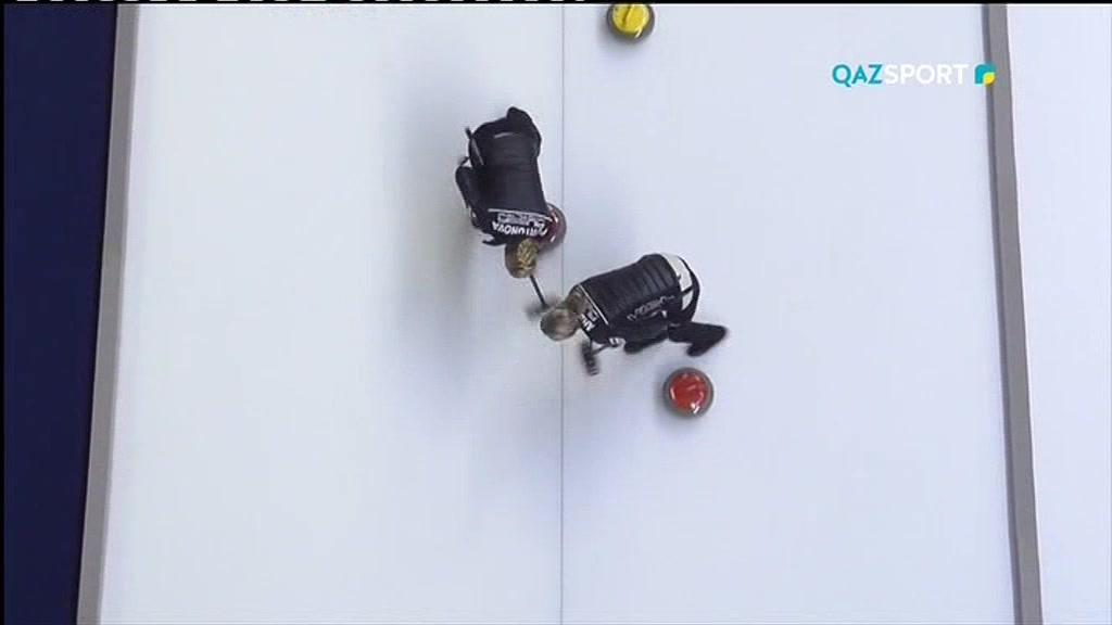 Олимпиада-2018. Керлинг (Микс). Круговая игра №7