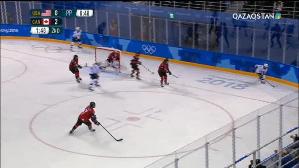 Олимпиада-2018. Хоккей. АҚШ - Канада. Әйелдер, Топтық кезең (Толық нұсқа)