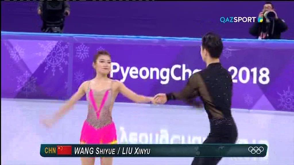 ОЛИМПИАДА-2018. ФИГУРНОЕ КАТАНИЕ (Танцы на льду. Короткая программа) 2 часть