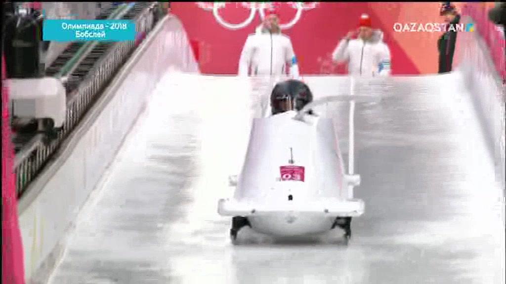 Олимпиада-2018. Бобслей. Екі адамдық экипаж. 3-ші және  4-ші айналым. Әйелдер (Толық нұсқа)