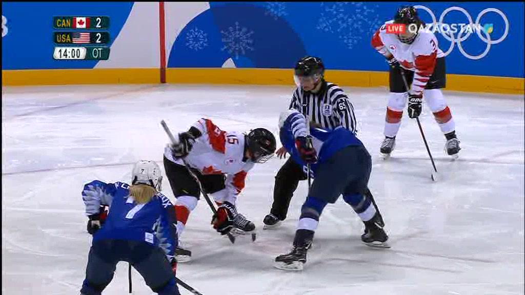 Олимпиада-2018. Хоккей. АҚШ - Канада. Әйелдер, Финал (Толық нұсқа)
