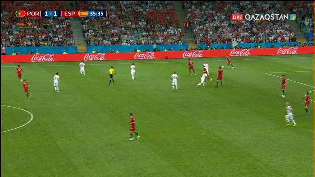 15.06.2018 - Футбол. Әлем чемпионаты - 2018. Португалия – Испания (Толық нұсқа)