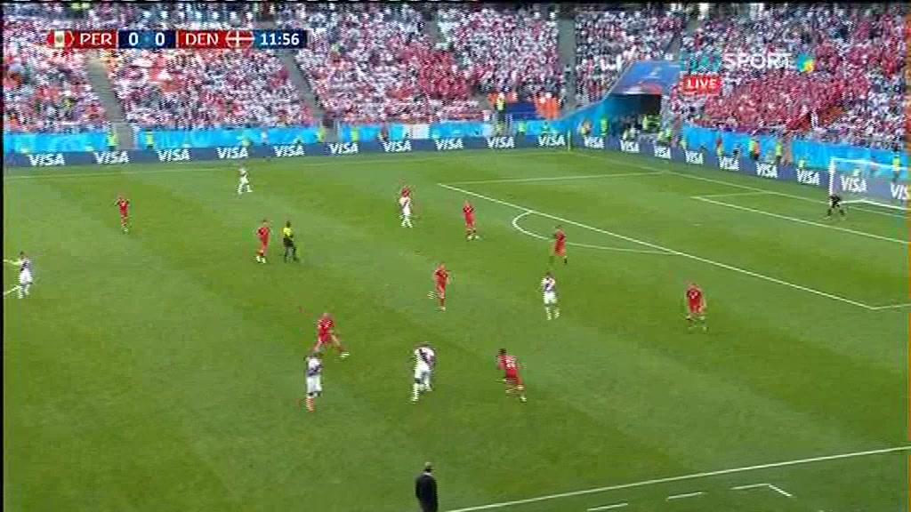 FIFA - 2018. Перу - Дания. Обзор матча