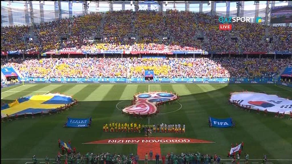 FIFA - 2018. Швеция - Южная Корея (1:0). Обзор матча