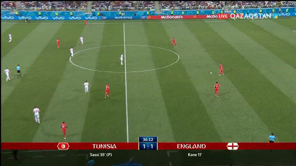 18.06.2018 - Футбол. Әлем чемпионаты - 2018. Тунис – Англия (Толық нұсқа)