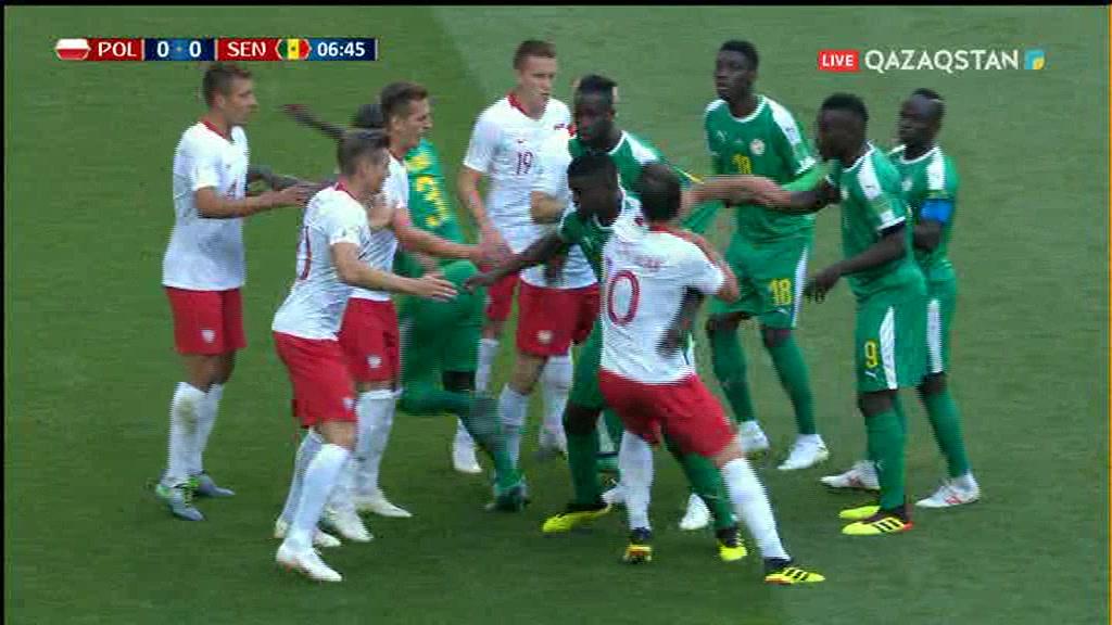 Польша 1:2 Сенегал | ӘЧ 2018 | Топтық кезең | 1-тур (шолу)