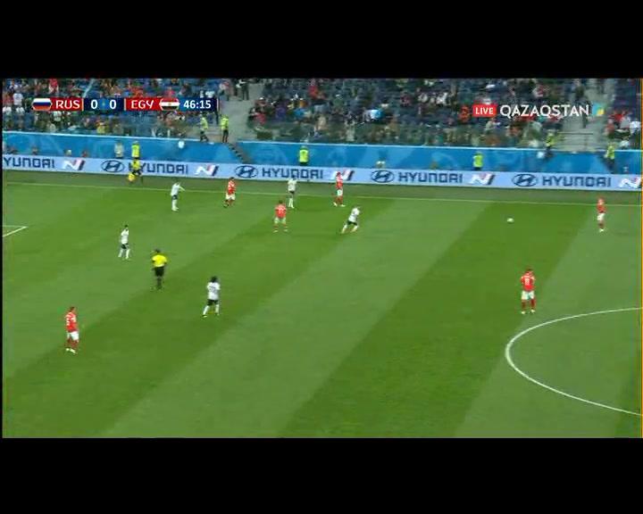 Египет құрамасының капитаны Ахмед Фатхи өз қақпасына гол салып алды