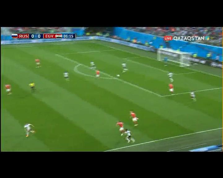 Ресей 3:1 Египет | ӘЧ 2018 | Топтық кезең | 2- тур (шолу)