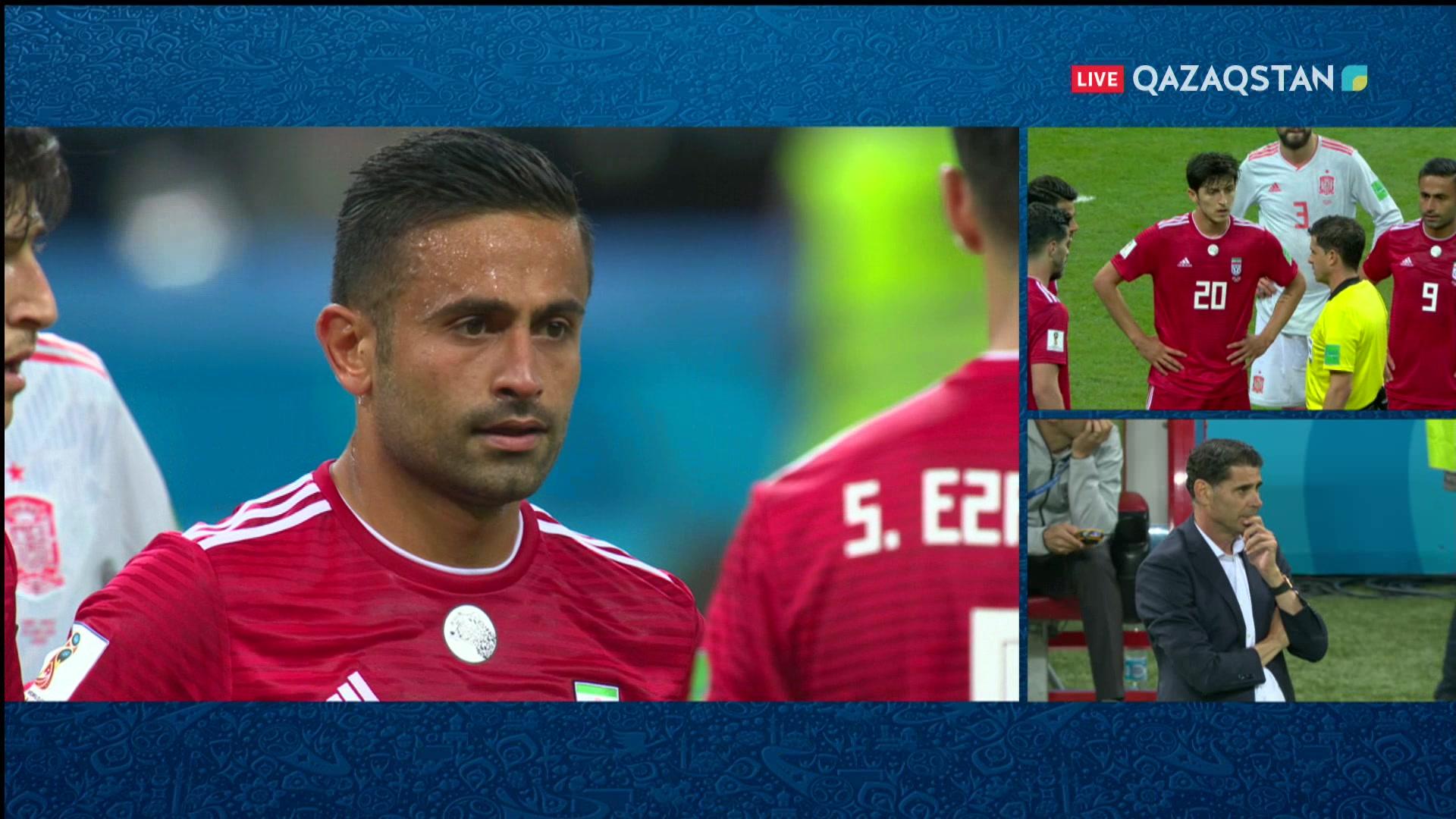 ӘЧ-2018. Иран – Испания |0 – 1| Шолу