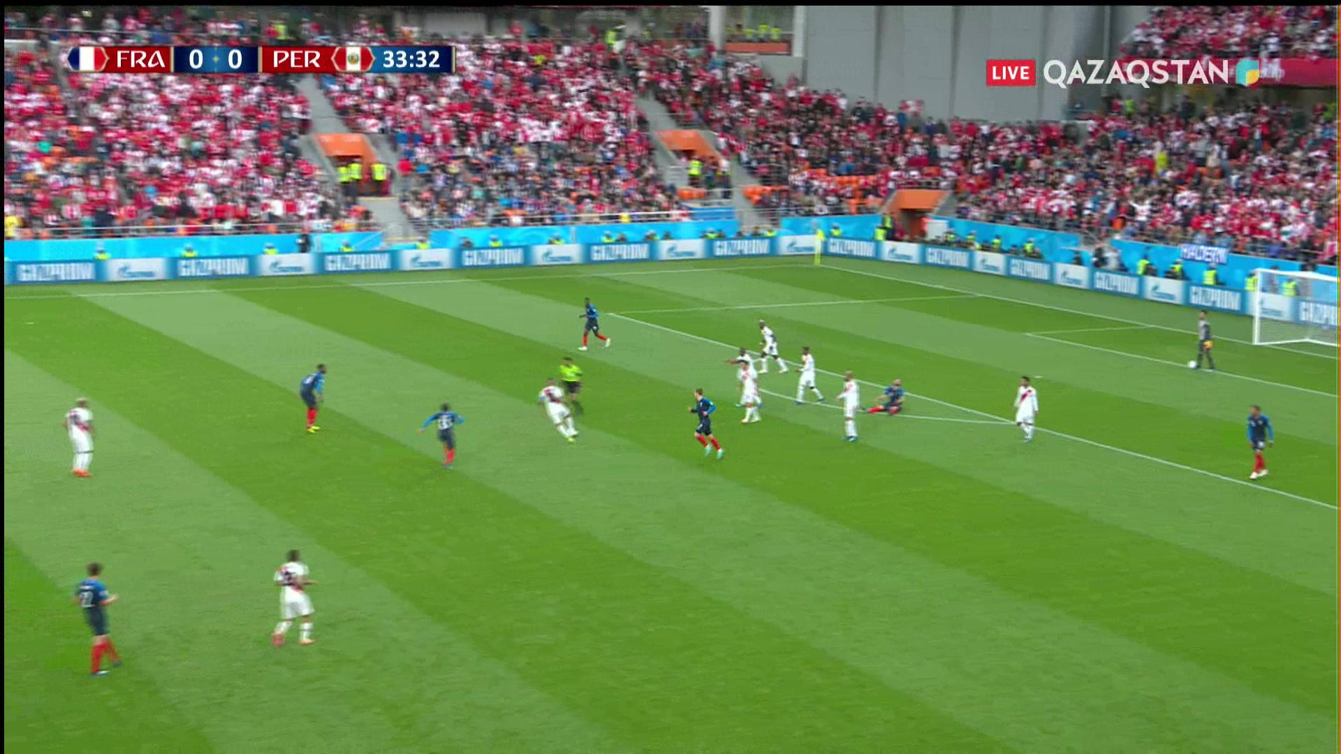 Франция – Перу - 1:0 | Әлем Чемпионаты 2018