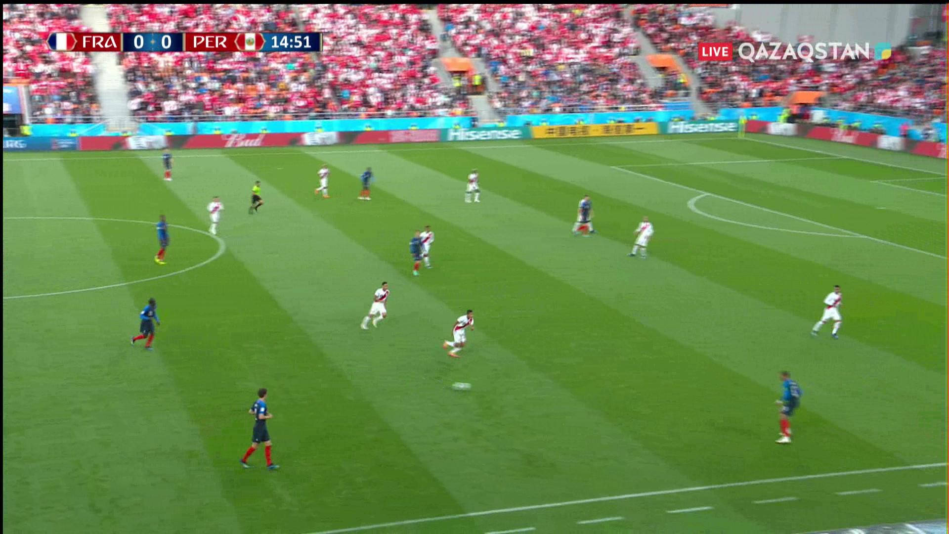 ӘЧ-2018. Франция - Перу |1 – 0| Шолу
