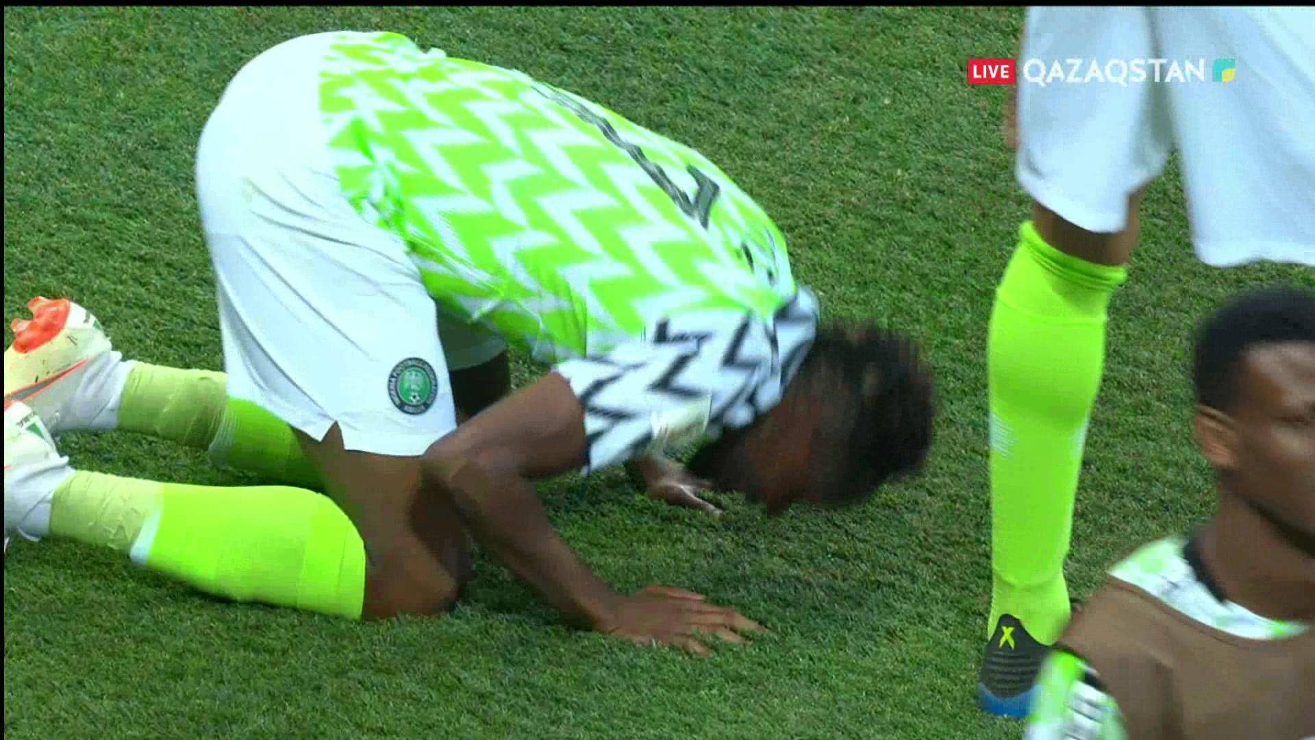 ӘЧ-2018. Нигерия – Исландия |2 – 0| Шолу