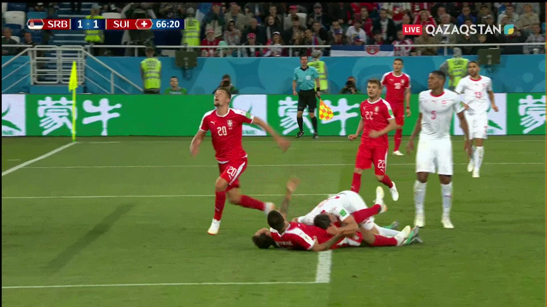 ӘЧ-2018. Сербия – Швейцария |1 – 2| Шолу