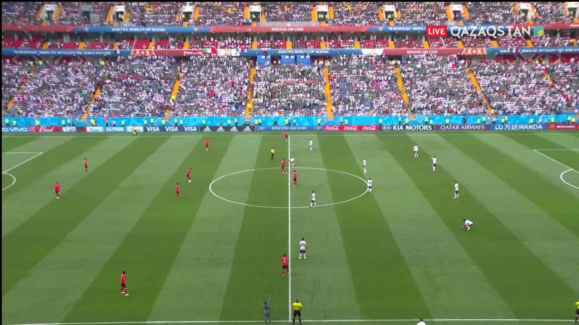 ӘЧ-2018. Оңтүстік Корея – Мексика  1 – 2  Шолу