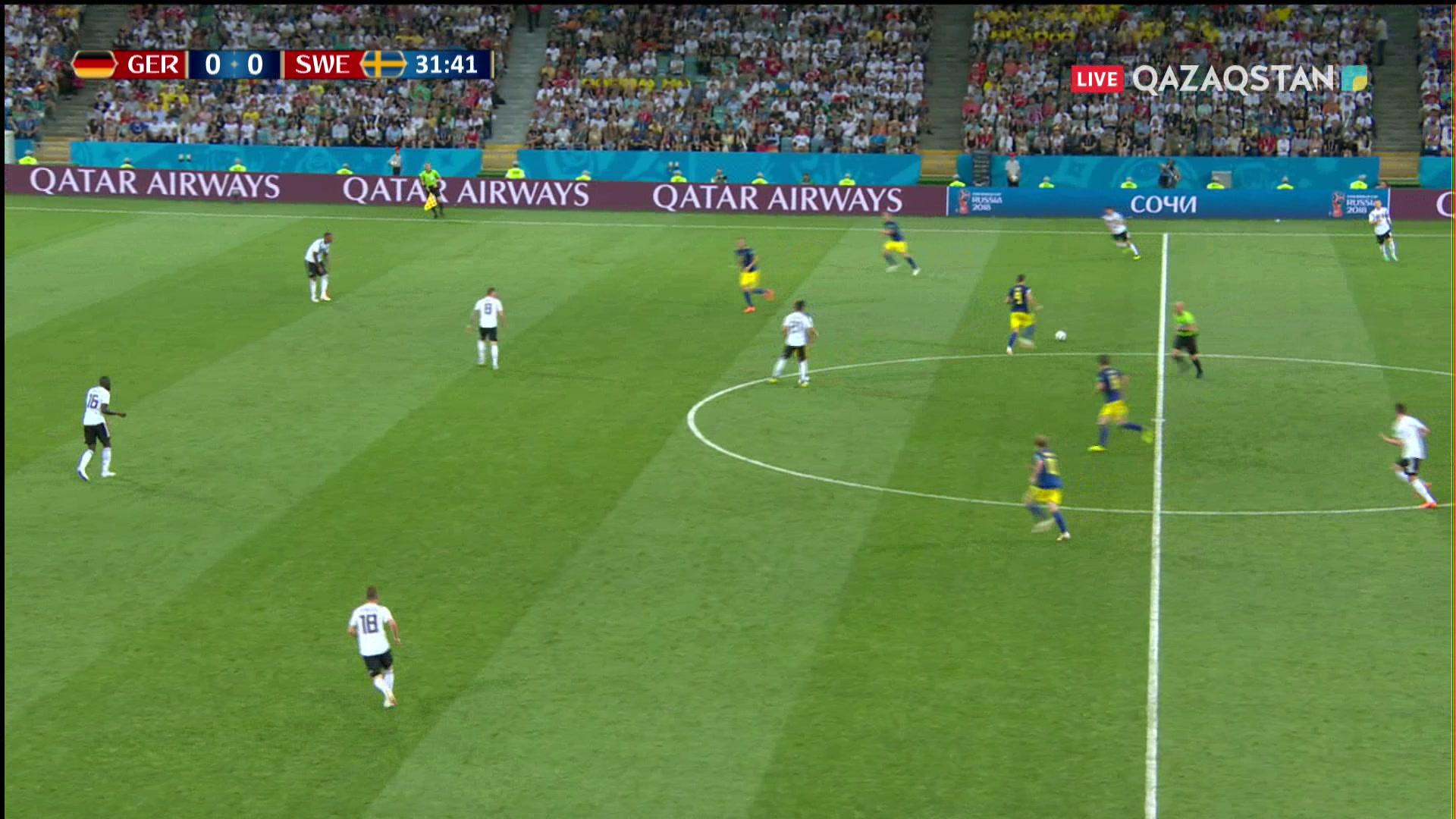 Германия - Швеция |0 – 1|. Тойвоненнің голы Германия құрамасын тығырыққа тіреді