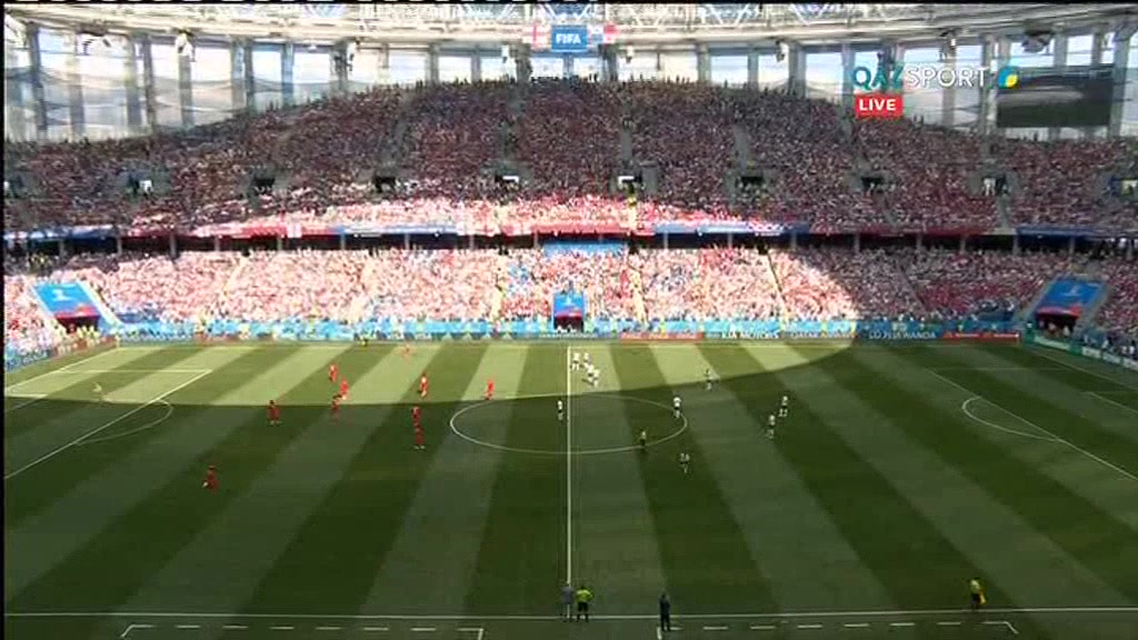 Англия 6:1 Панама | Чемпионат Мира 2018 | Групповой этап | Полный матч