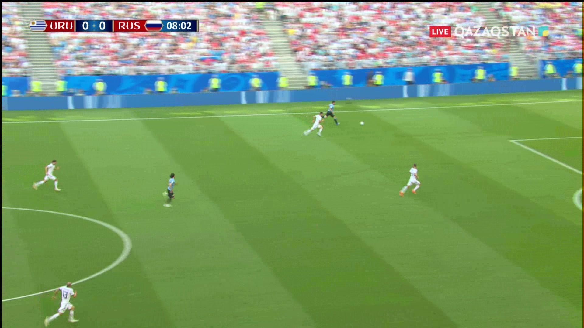 ӘЧ-2018. Уругвай – Ресей |3 – 0| Шолу