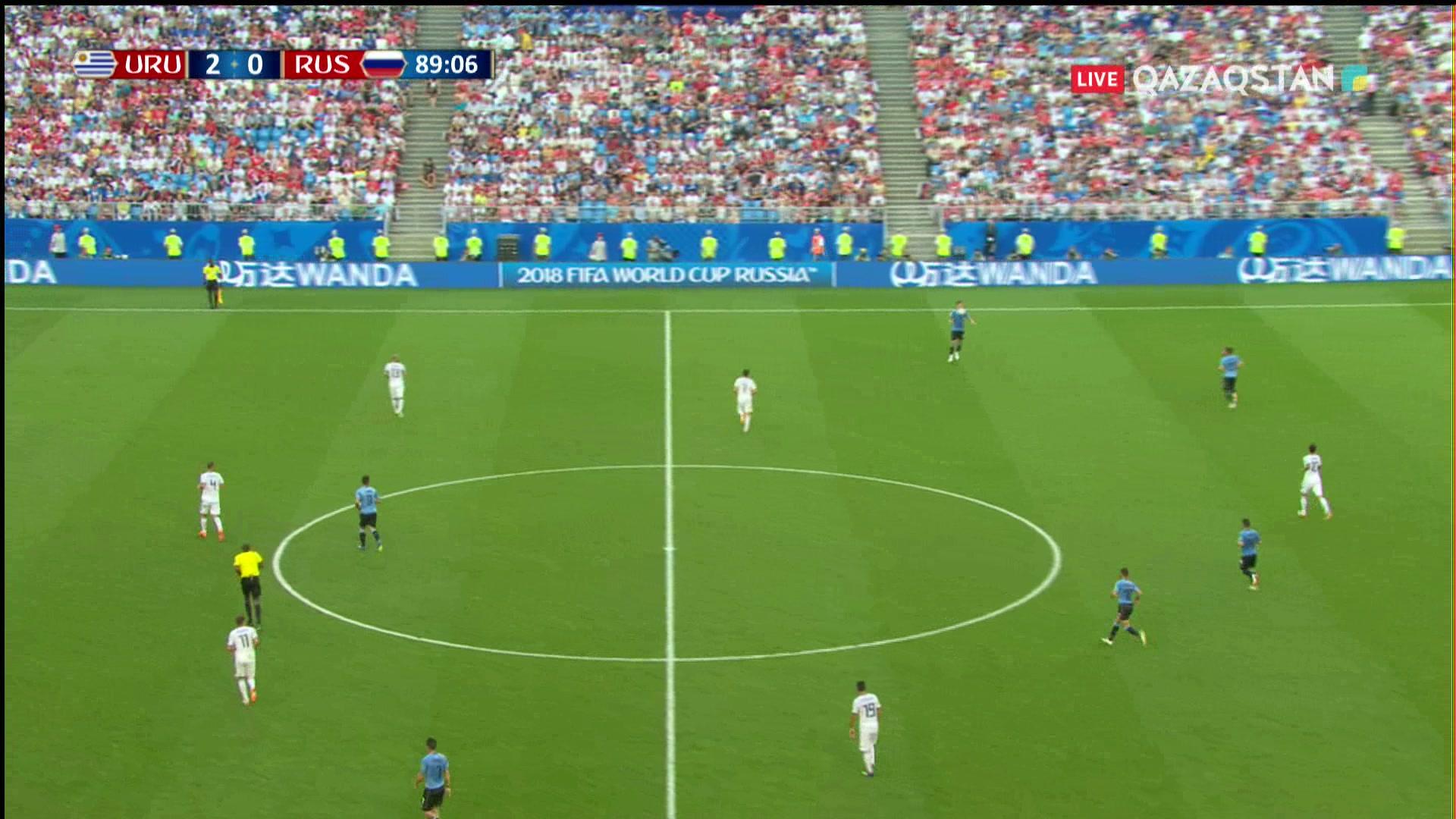 Уругвай – Ресей - 3:0 | Әлем Чемпионаты 2018