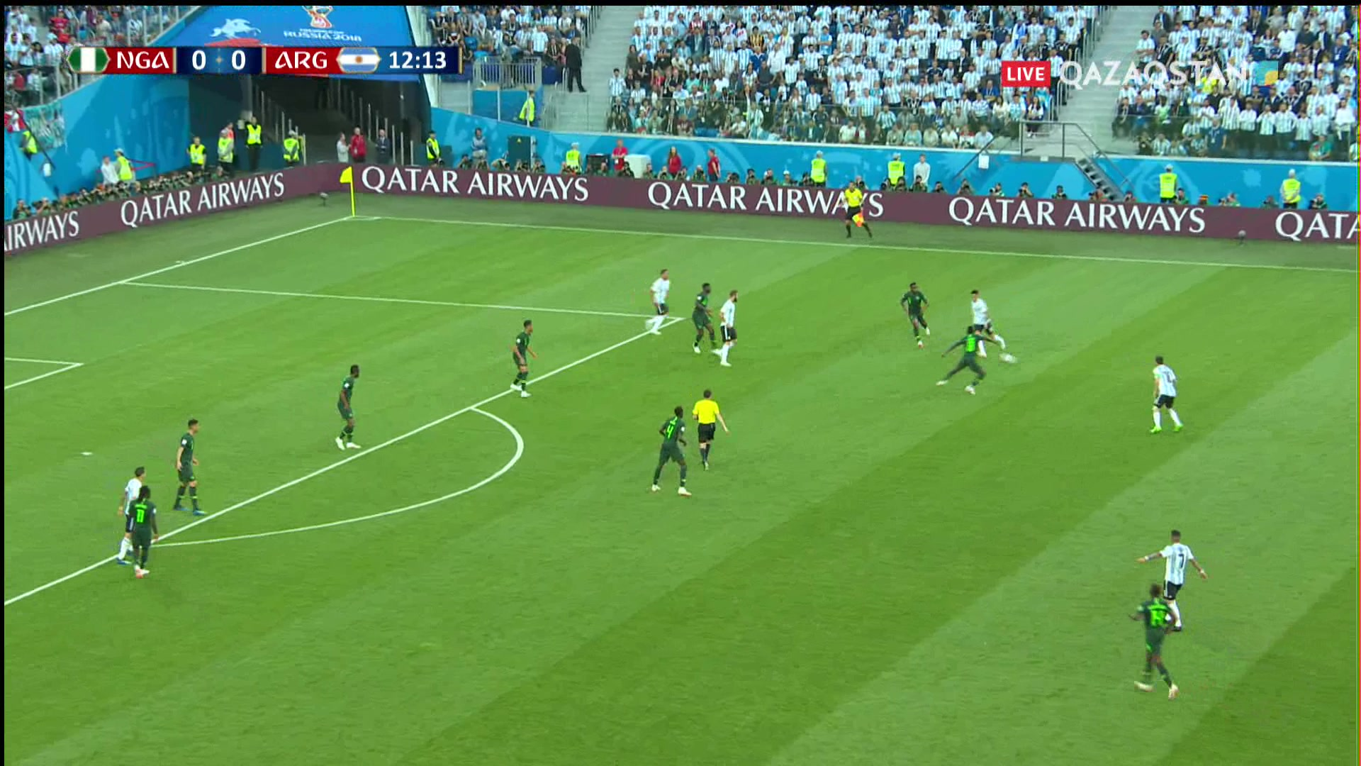 ӘЧ-2018. Нигерия – Аргентина |1 – 2| Шолу