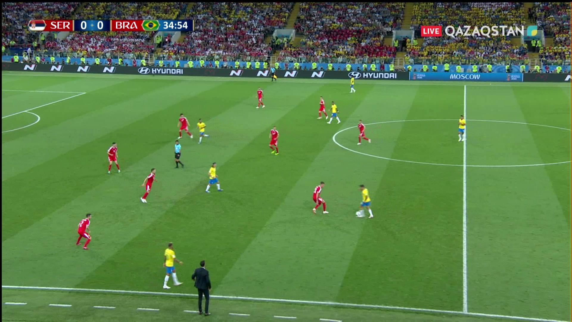 Сербия – Бразилия - 0:1 | Әлем Чемпионаты 2018