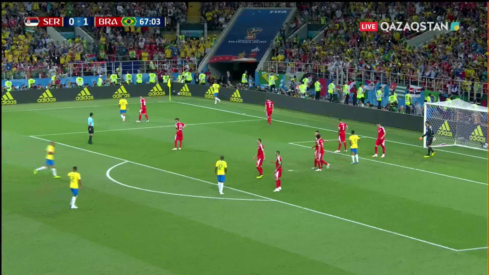 Сербия – Бразилия - 0:2 | Әлем Чемпионаты 2018