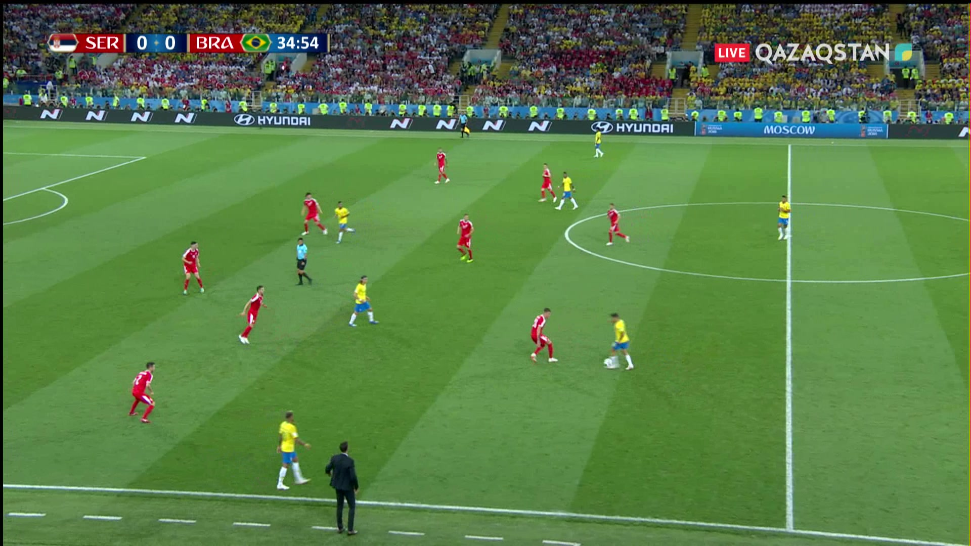 ӘЧ-2018. Сербия – Бразилия |0 – 2| Голдарға шолу