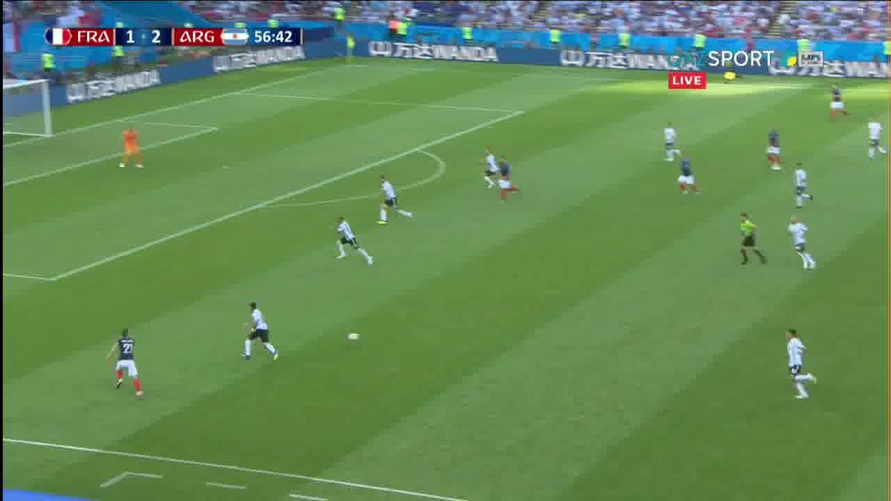 Франция - Аргентина. Гол Павар