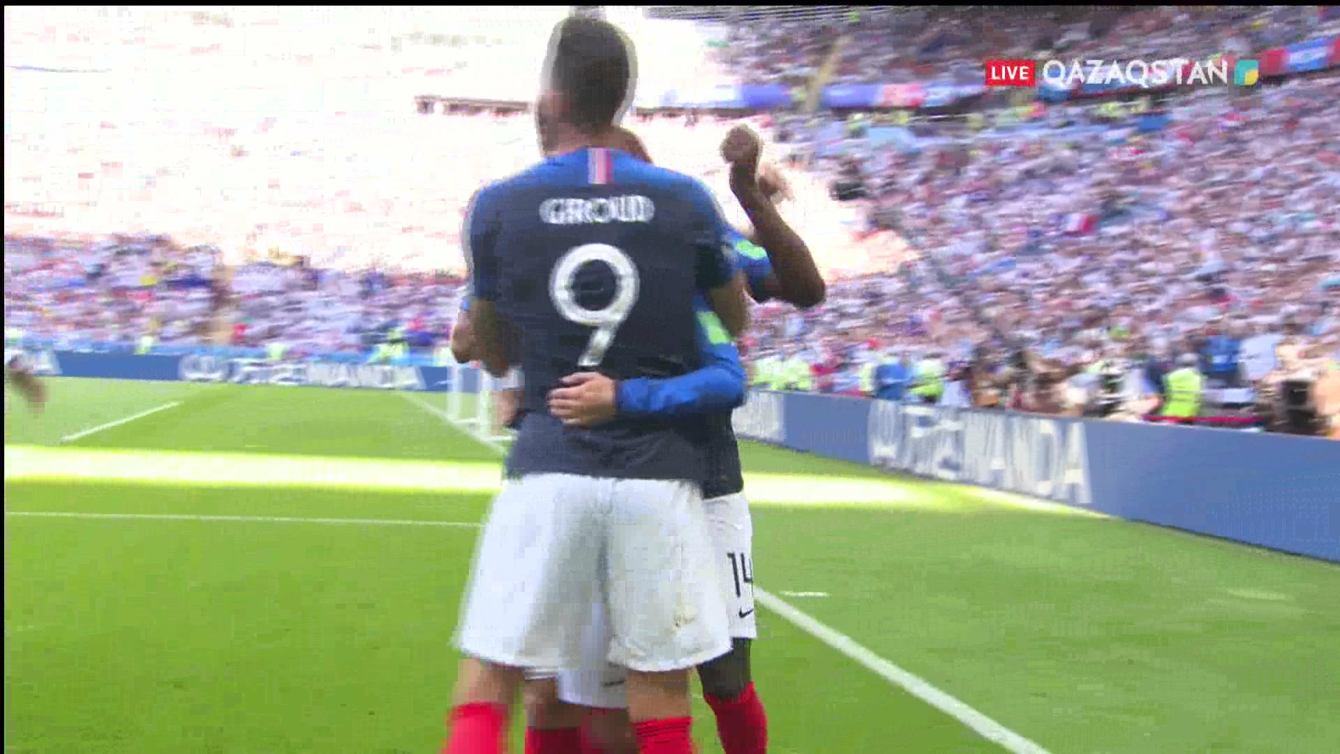 ӘЧ-2018. Франция – Аргентина  4 – 3  Шолу