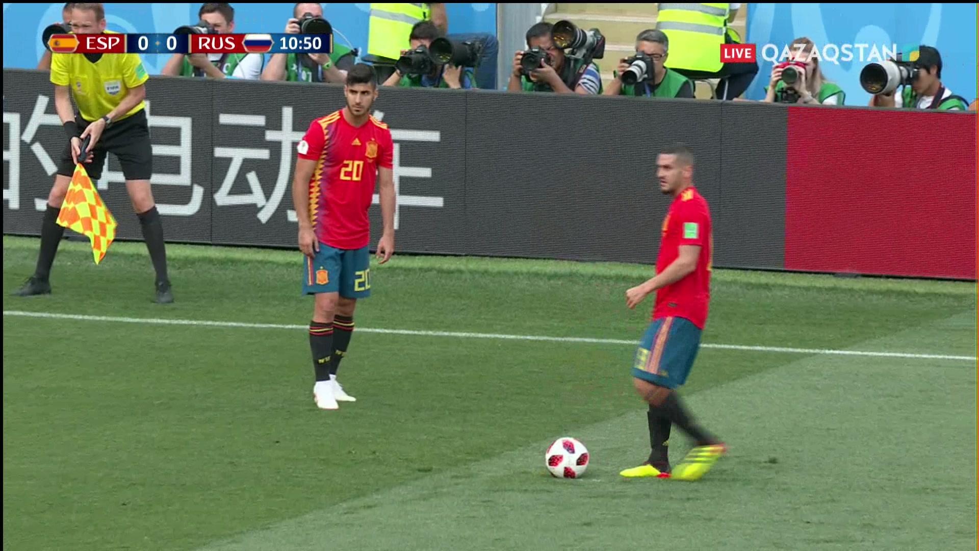 Испания – Ресей – 1:0 | Әлем Чемпионаты 2018: Игнашевич өз қақпасына гол соғып алды