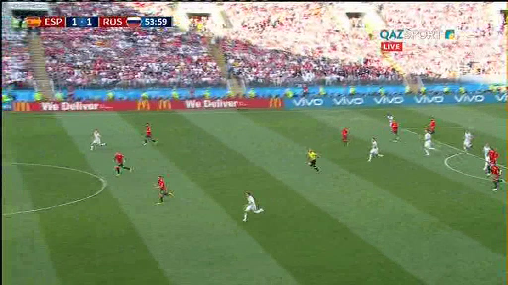 Испания - Ресей. Ойынның толық нұсқасы