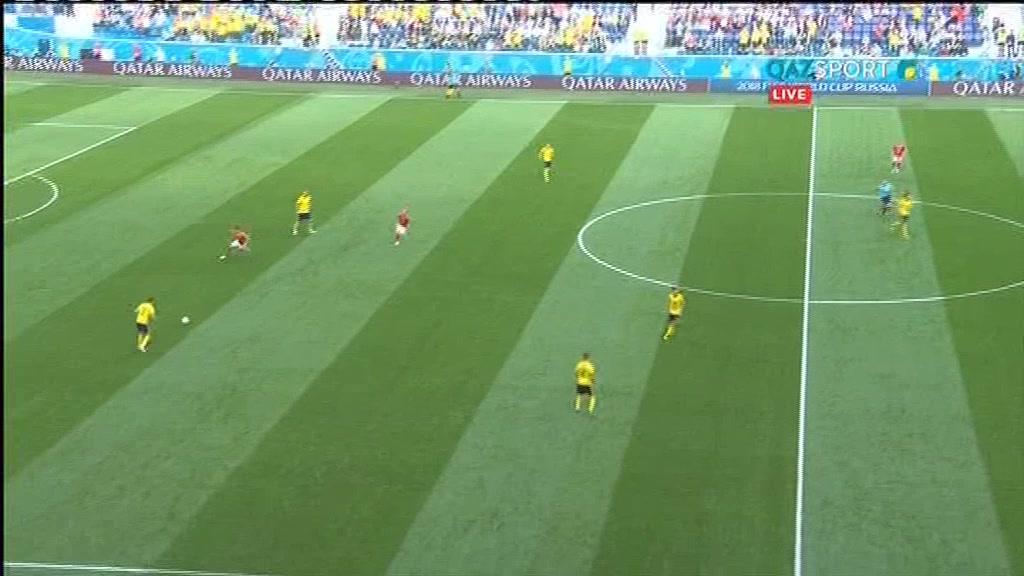 Швеция 1:0 Швейцария | Чемпионат Мира 2018 | Плей-офф | 1/8 финала