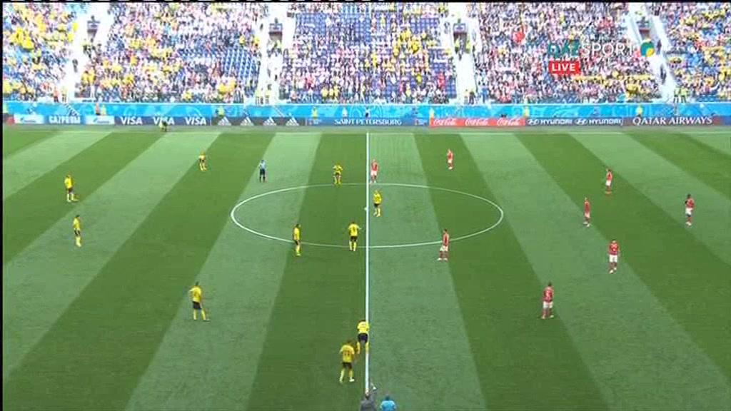 Швеция 1:0 Швейцария | Чемпионат Мира 2018 | Полный матч