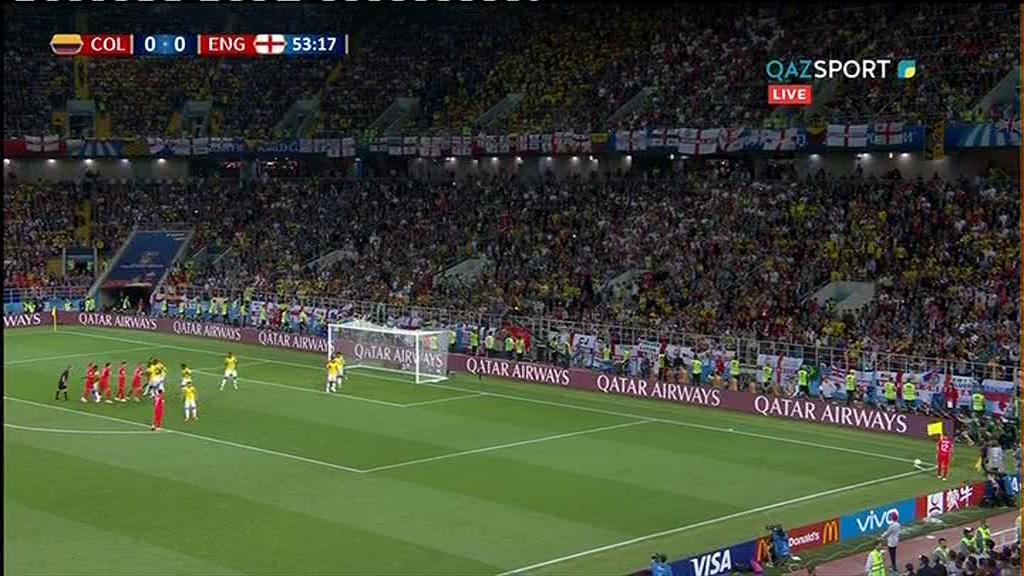 Колумбия - Англия. Гол Харри Кейн с пенальти