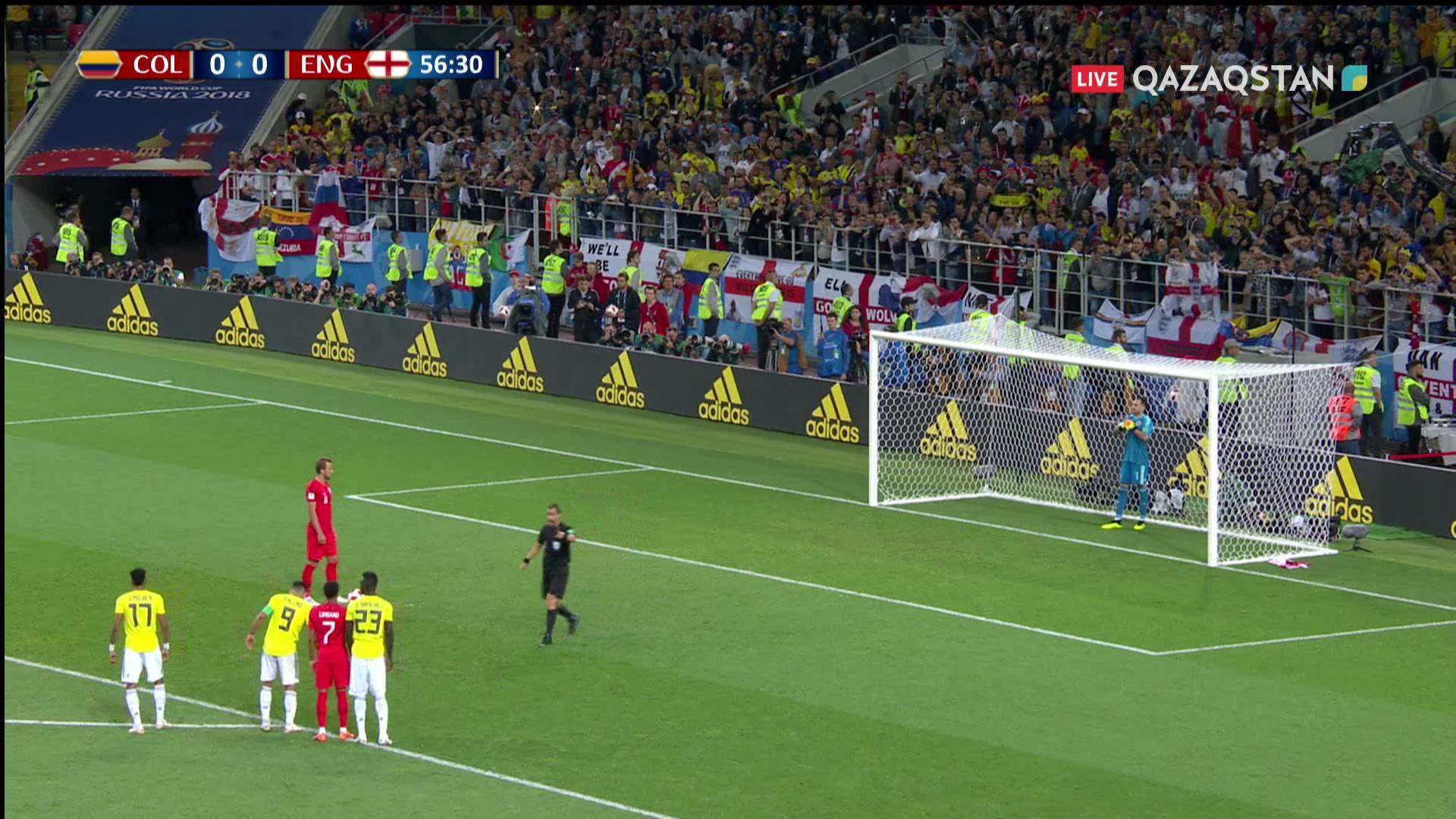 Колумбия – Англия – 0:1   Әлем Чемпионаты 2018: Харри Кейн пенальтиден гол соқты
