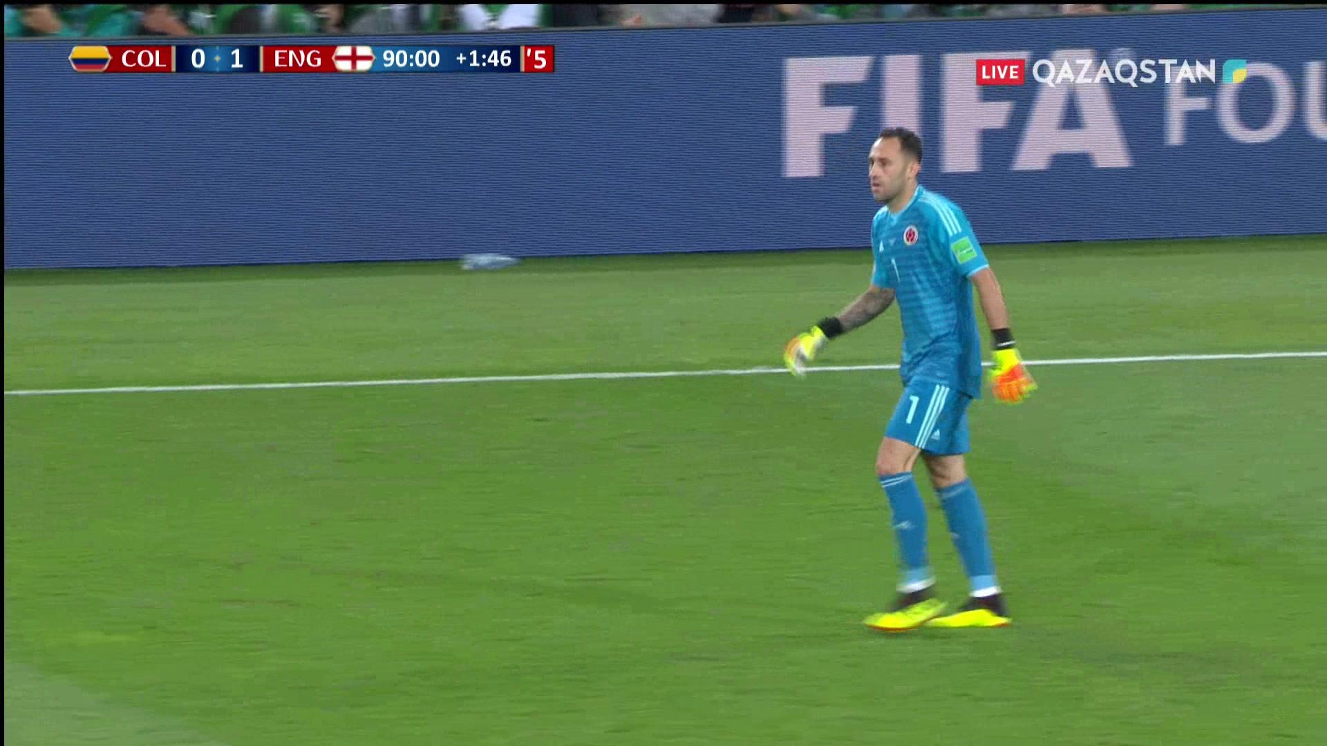 Колумбия – Англия – 1:1   Әлем Чемпионаты 2018: Йерри Мина соңғы минутта есепті теңестірді