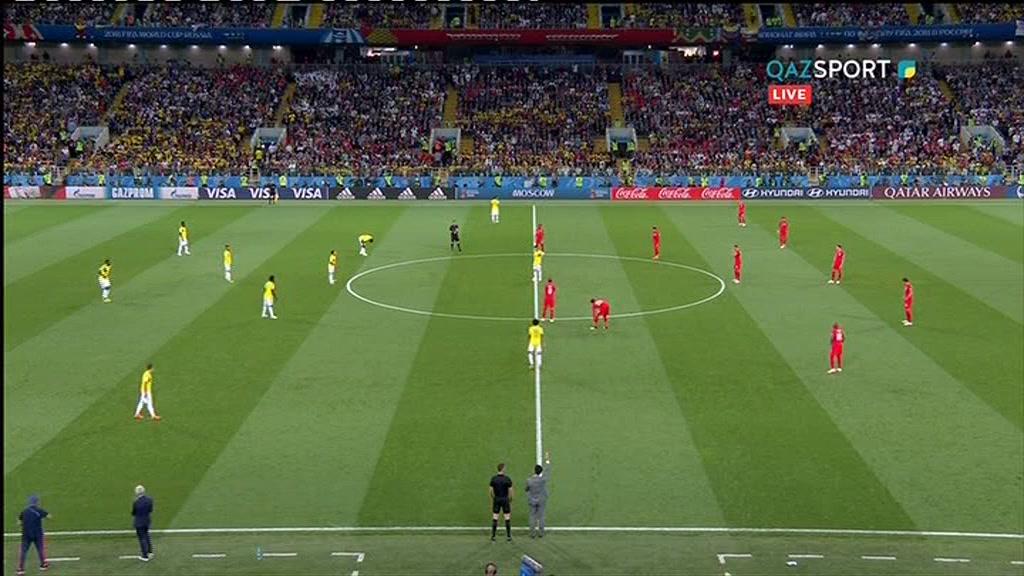 Колумбия 1:1 (3:4) Англия   Чемпионат Мира 2018   Плей-офф   1/8 финала