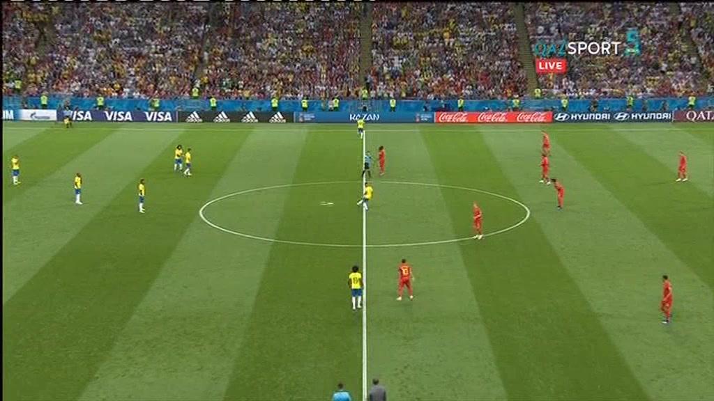Бразилия 1:2 Бельгия | Чемпионат Мира 2018 | Плей-офф | Обзор матча