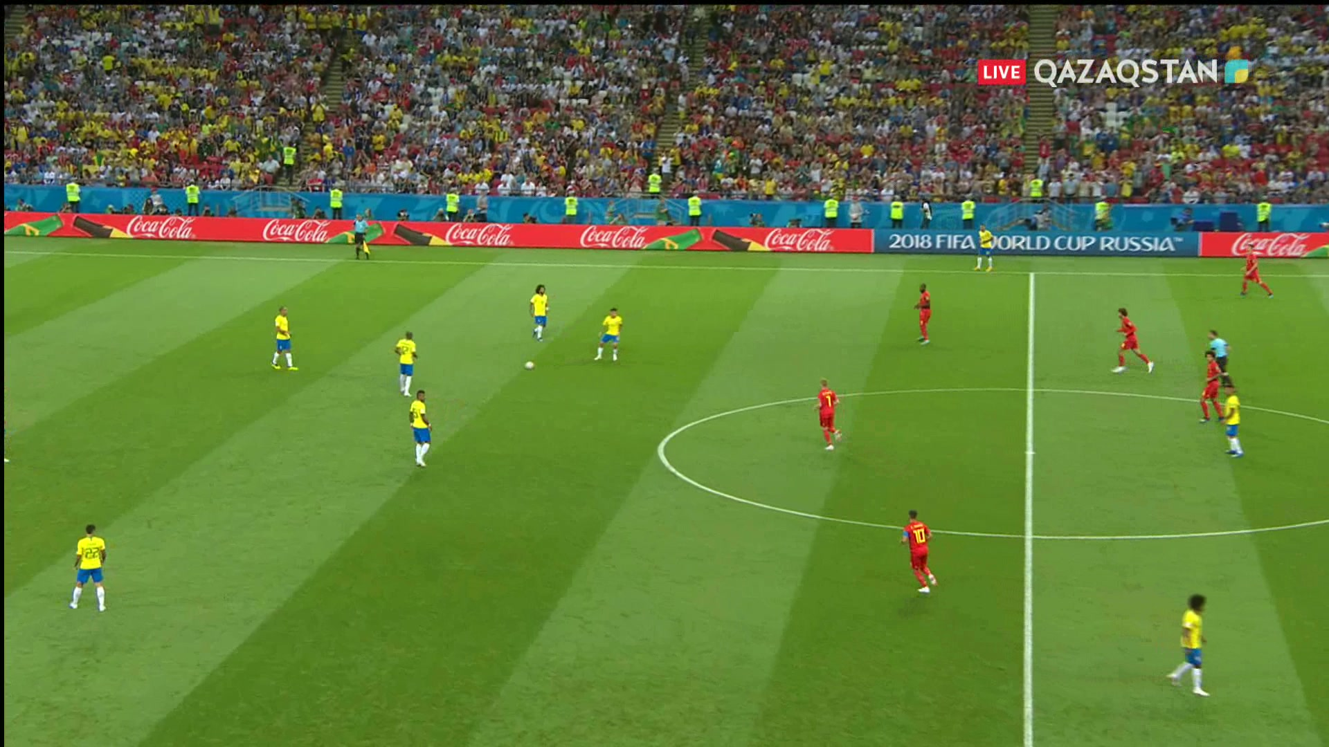 Бразилия – Бельгия - 1:2 | Шолу