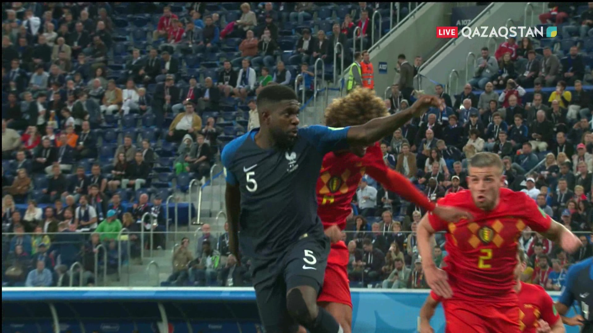 Франция – Бельгия – 1:0 | Шолу
