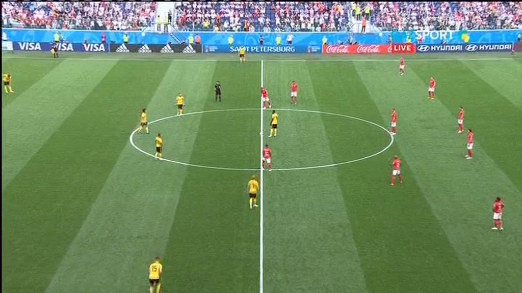 Бельгия 2:0 Англия | Чемпионат Мира 2018 | Плей-офф | Обзор матча