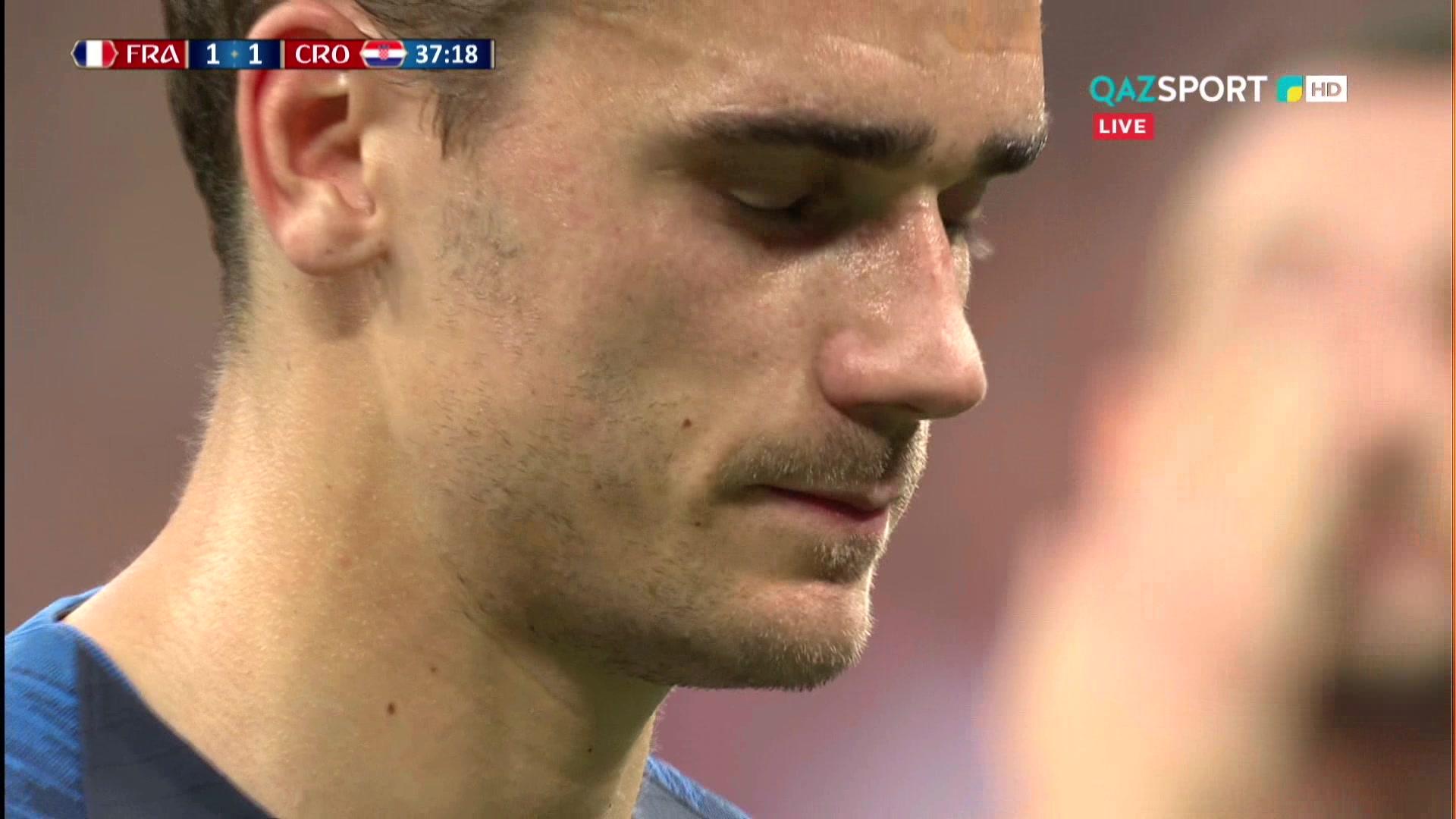Франция 2:1 Хорватия | Гол Антуан Гризманн