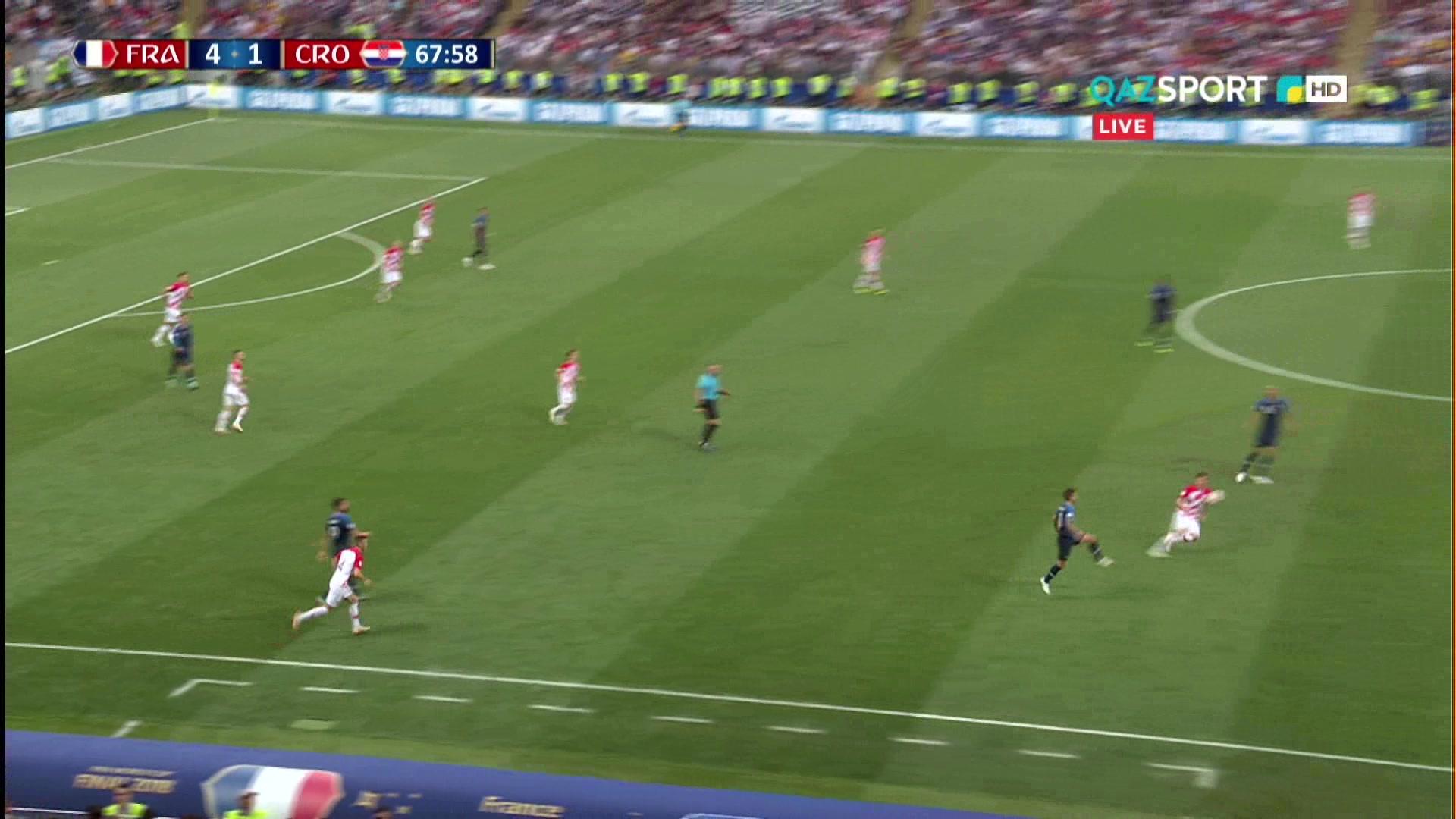 Франция 4:2 Хорватия | Гол Марио Манджукича