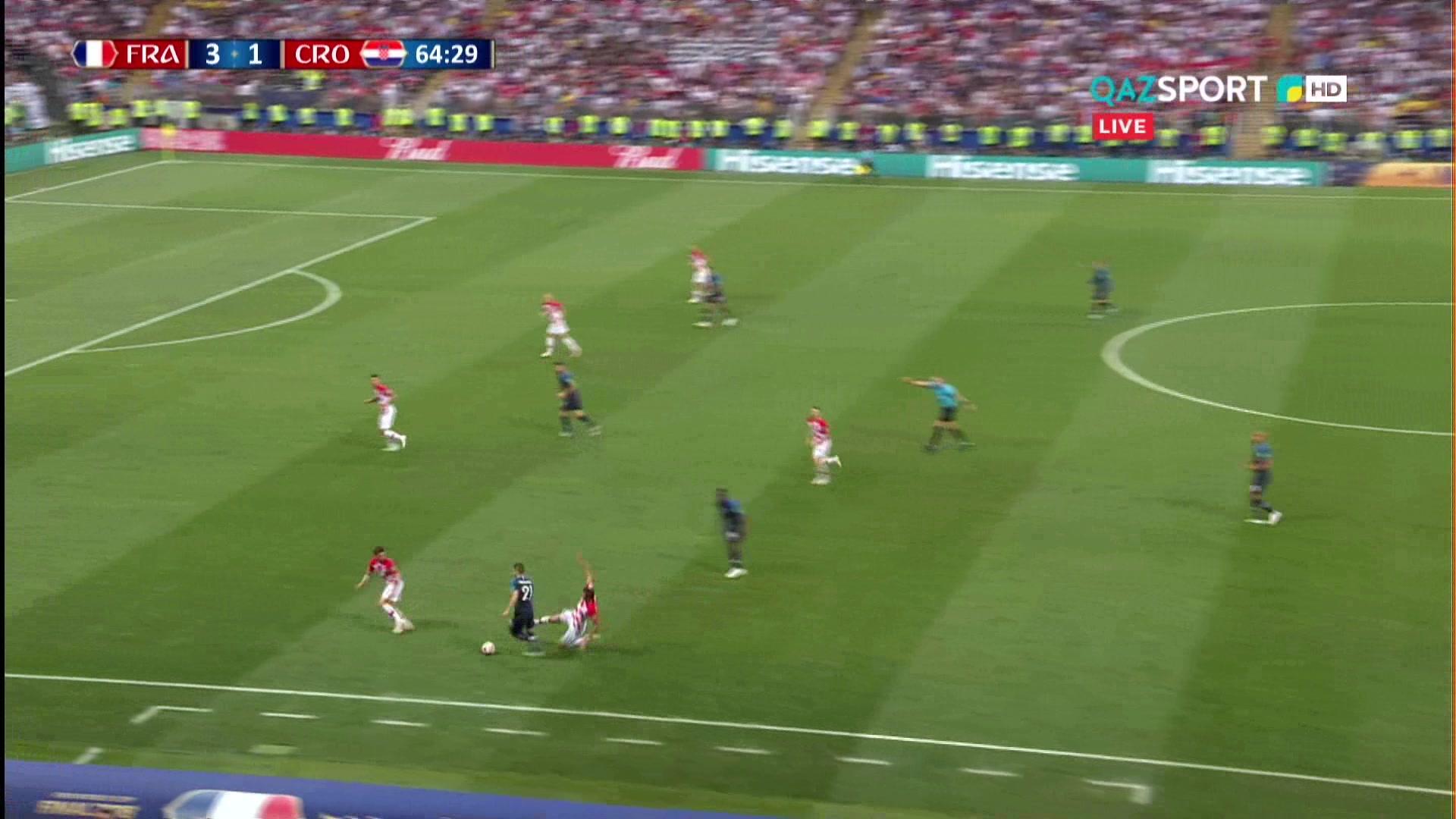 Франция 4:1 Хорватия | Гол Киллиан Мбаппе