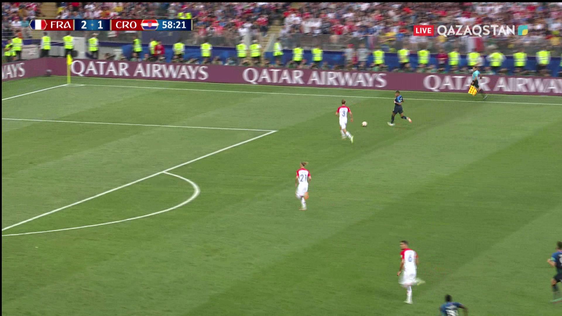 Франция – Хорватия - 3:1 | Әлем Чемпионаты 2018: Поль Погба алыстан дәл соққымен көзге түсті