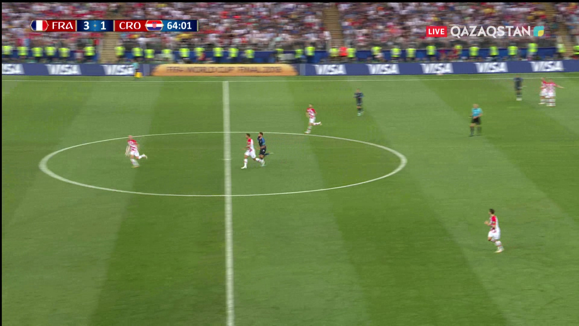 Франция – Хорватия - 4:1 | Әлем Чемпионаты 2018: Киллиан Мбаппе қарсылас қақпашысын қапы қалдырды