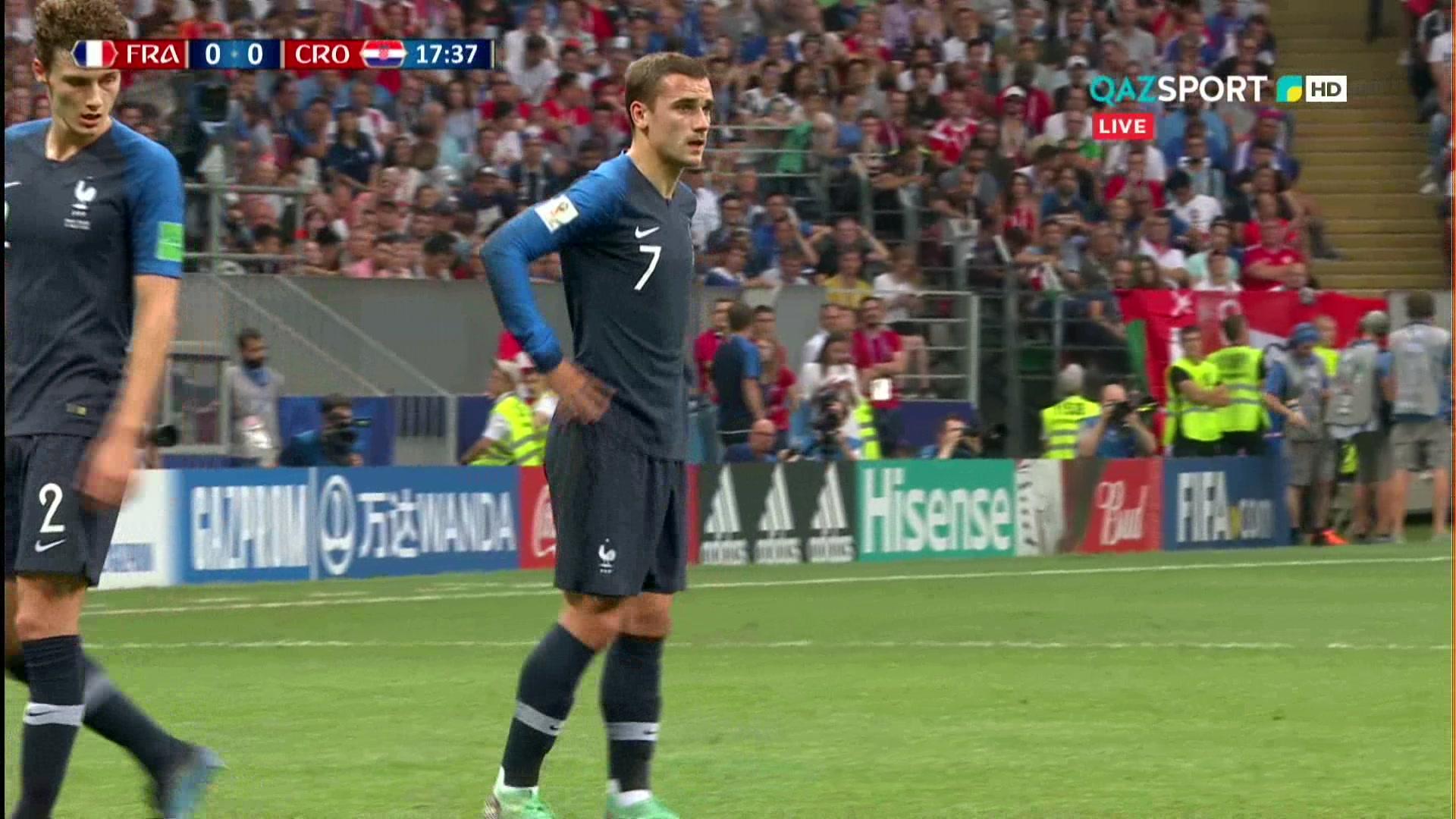 Франция 4:2 Хорватия | Чемпионат Мира 2018 | Обзор матча